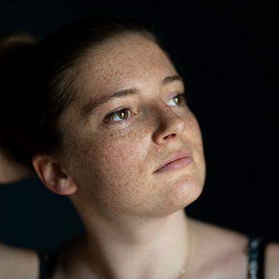 Portrait Frau in Arles
