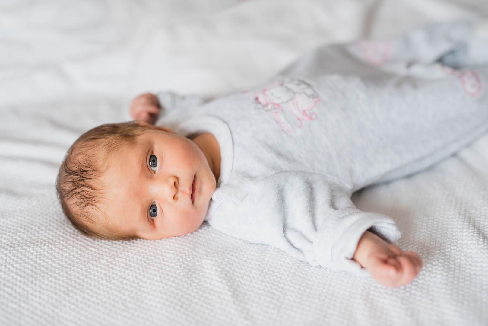 Neugeborenenfotografie zuhause in München