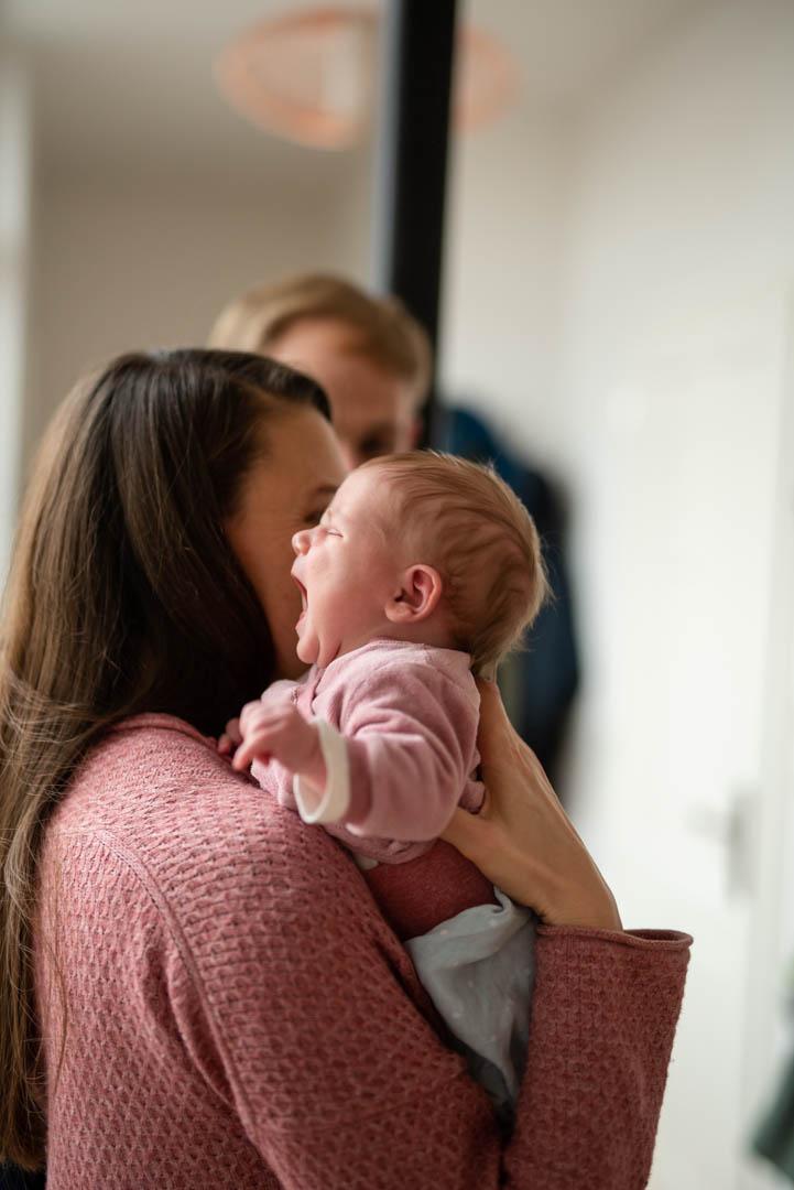 Homestory Mama mit Baby